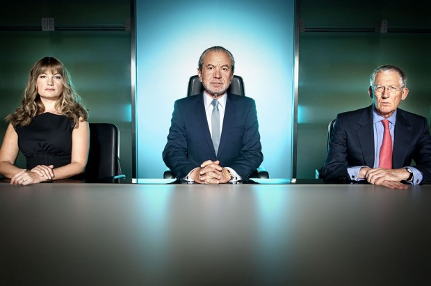 The Apprentice TV Lord Sugar