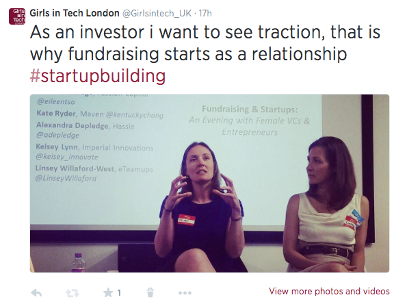 Investing as a relationship - Traction