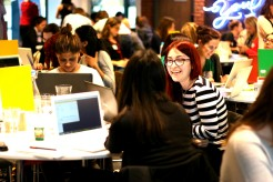 100 women learn to code