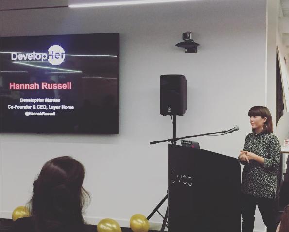 Hannah Russell, DevelopHer Mentee