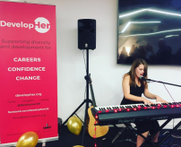 Hope performing Live