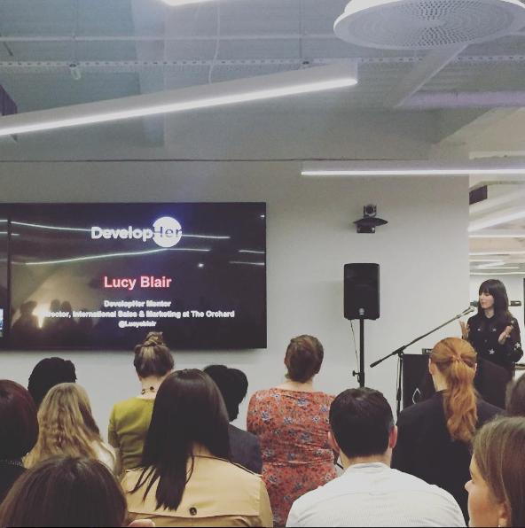 Lucy Blair, DevelopHer Mentor